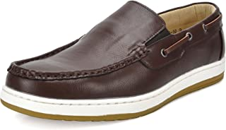 BRUNO MARC NEW YORK Mens Pitts Penny Loafers Moccasins Boat Shoes