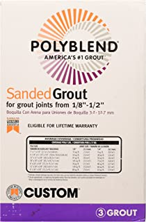 Polyblend Sanded Grout Fawn