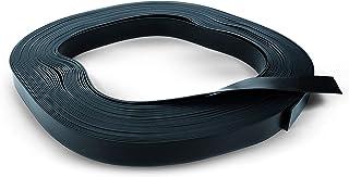 Best Divers Black Rubber Belt (50 m Roll), Unisex Adult, Black,