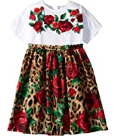 Dolce & Gabbana Kids - D&G Roses Dress (Big Kids)