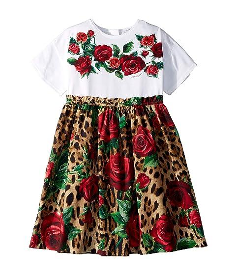 Dolce & Gabbana Kids D&G Roses Dress (Big Kids)