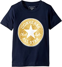 Converse Kids - Chenille Chuck Patch Tee (Toddler/Little Kids)