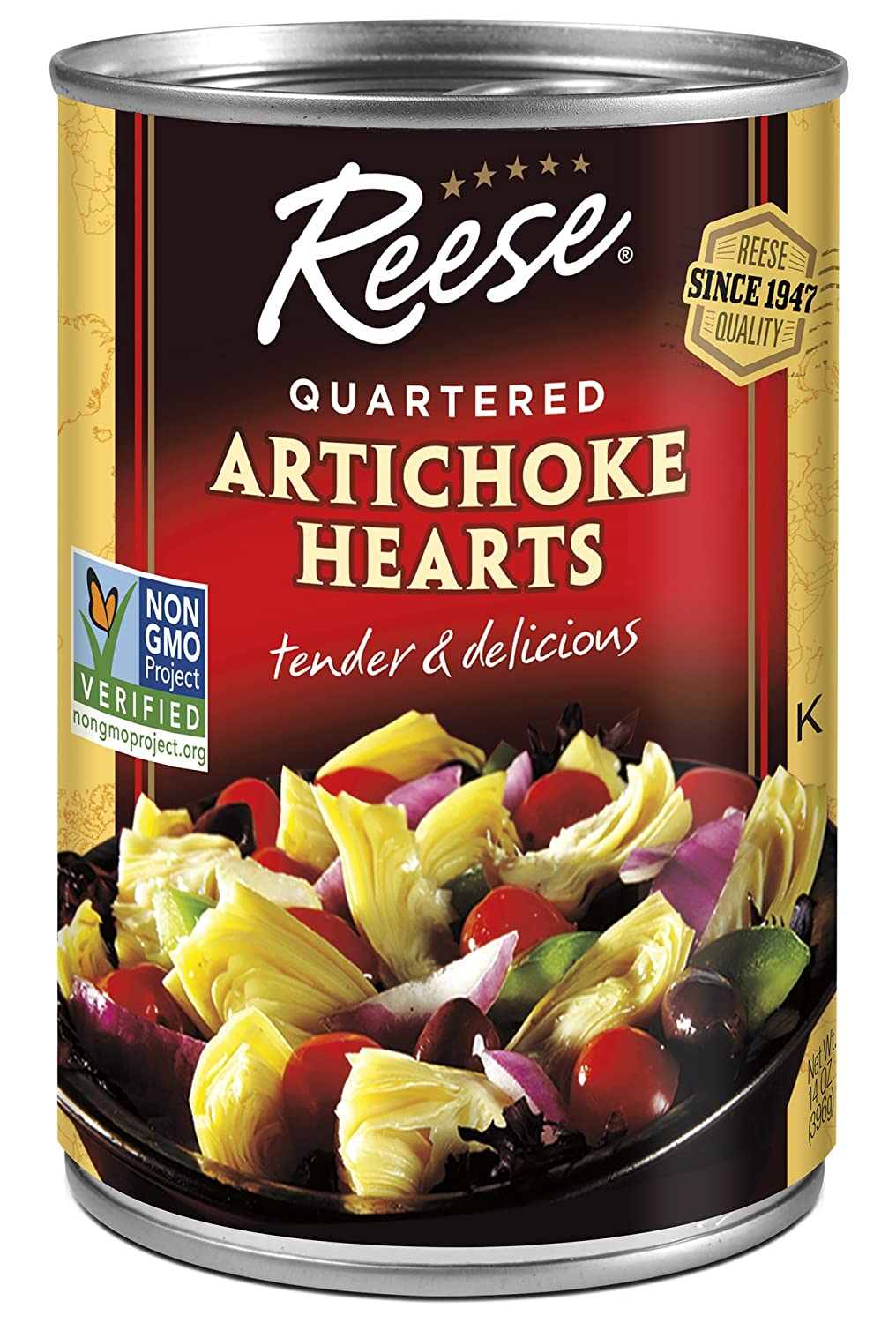 Reese Quartered Artichoke Hearts 14 Pack 12 Brand new Long-awaited of Ounces