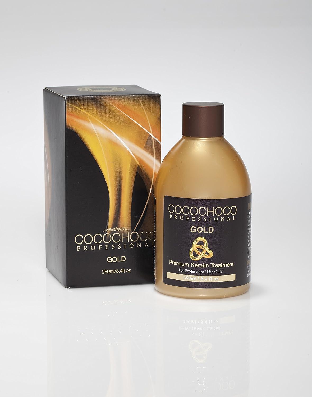 Cocochoco Professional Gold Premium Keratina Tratamiento capilar, 250 ml