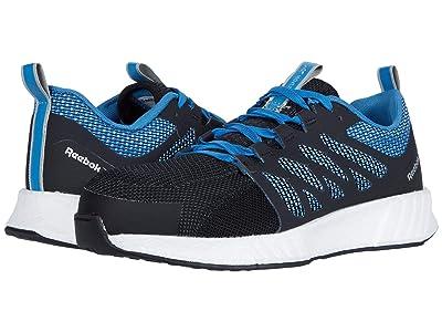 Reebok Work Fusion Flexweave Cage Composite Toe (Blue) Men