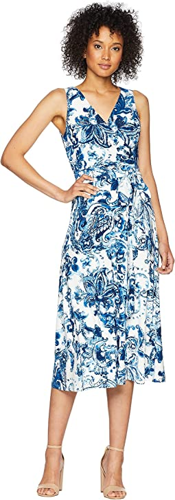 A148 Coco Paisley Cara Sleeveless Day Dress