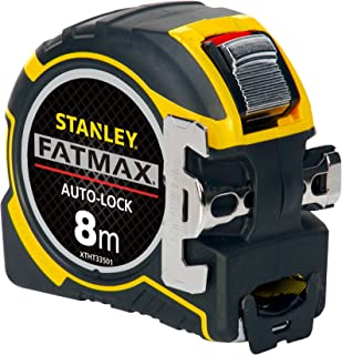 STANLEY FATMAX Autolock Tape, 8m Metric Only