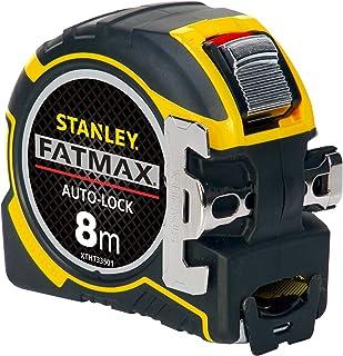 Stanley Xtht0-33501 Mesure Auto lock 8Mx32 - Ruban Large - Traitement Mylar Et Blade Armor - Crochet Avec Position Du zéro...