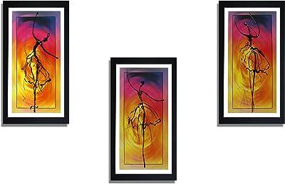 SAF Special Effect Textured Abstract Art Painting (SANFO269, 15 cm x 3 cm x 38 cm) SANFO269