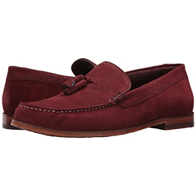 Ted Baker Dougge (Dark Red Suede) Men