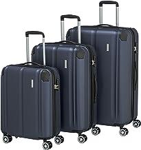 Travelite 4-Rad Koffer Set Größen L/M/S mit TSA Schloss + Dehnfalte (außer Größe S),..