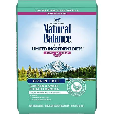 Natural Balance Dry Dog LID Small Breed Grain Free
