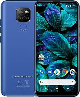 General Mobile GM 20 Single Akıllı Telefon, 64 GB, Okyanus Mavisi (Telpa Türkiye Garantili)
