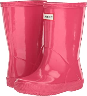 Hunter Kids Unisex-Child KFT5003RGL First Gloss Pink Size: 10 Toddler