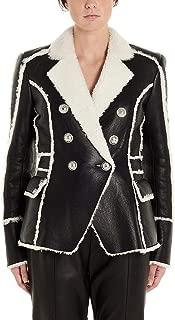 Balmain Luxury Fashion Womens SF08894L080EAB White Outerwear Jacket | Fall Winter 19