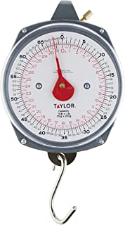Taylor Precision Products Dial Style 70-Pound Industrial Hanging Scale