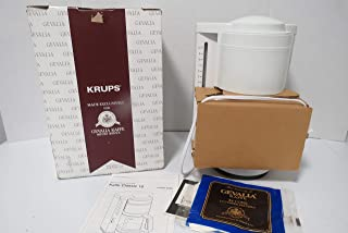Krups Gavalia Kaffe 10 Cup Coffeemaker White Model 396