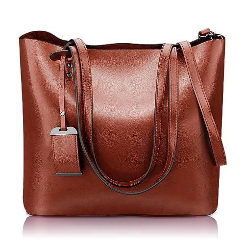 ad187b5079ae Women Top Handle Satchel Handbags Shoulder Bag Messenger Tote Bag Purse