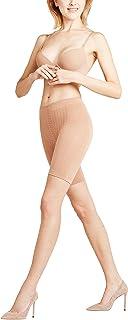 FALKE Damen Panty Cellulite Control, Blickdicht, Matt, 1 Stück, Beige Powder 4069, Größe: S