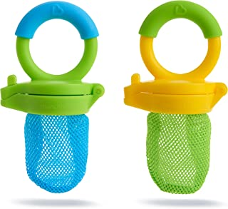 Munchkin Fresh Food Feeder, 2 Pack, Blue/Green