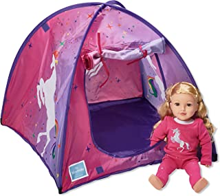 "Bluenido Princess Unicorn Dollhouse Tent Perfect for 18"" American Girl Dolls+"