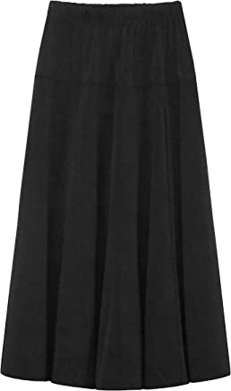 d641cba50099 Baby'O GIRL'S (CHILDREN'S) Stretch Knit Fit and Flare A-Line Maxi