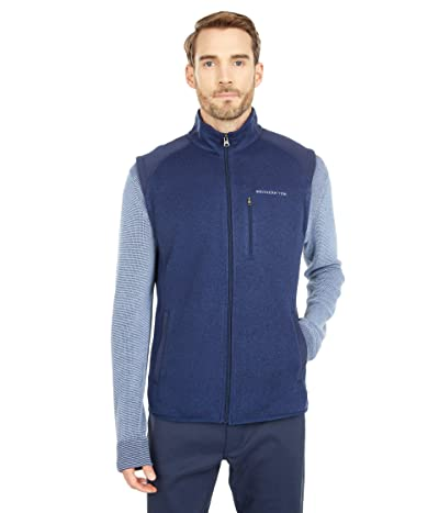 Southern Tide Leadline Vest (Heather True Navy) Men