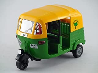 Centy Toys CNG Auto Rickshaw - A Classic From India - (Kidsshub) 115/55/70 mm. In Length, Width Height , Weight 100 gms(approx) in Green Color