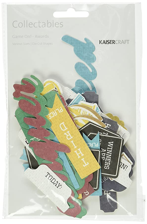 Kaisercraft CT792 Game on Die Cuts Awards Collectables Cardstock