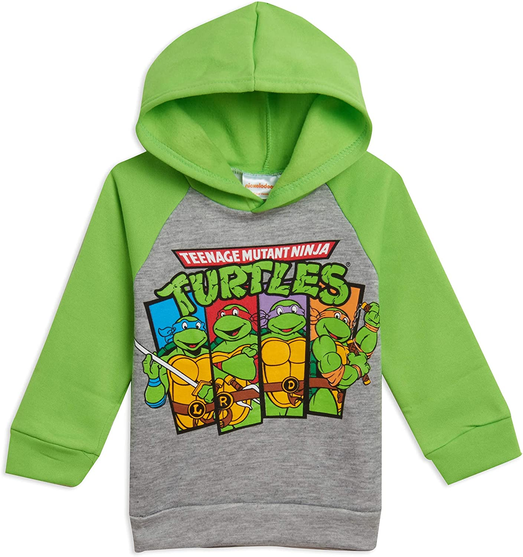 Nickelodeon Teenage Mutant Ninja Turtles Boys Fleece Pullover Hoodie
