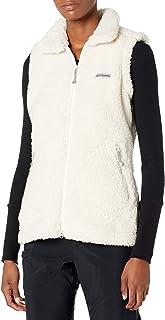 Columbia Women's Winter Pass Sherpa Vest, Chalk, X-Large