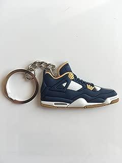 Jordan Retro 4 Dunk From Above Sneaker Keychain Shoes Keyring AJ 23 OG