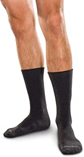 SmartKnitBigKIDS Seamless Sensitivity Socks (Black Large)