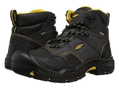 Keen Utility Logandale Waterproof Steel Toe (Raven/Black) Men