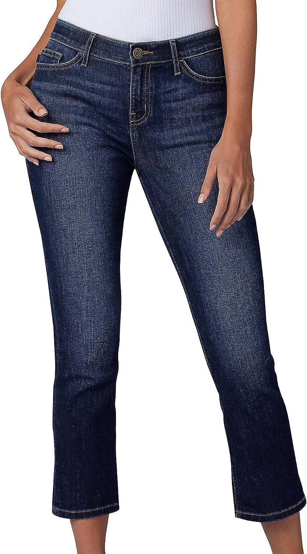 Lee 2021 new Women's Flex Sale special price Motion Regular Pocket 5 Capri Fit Jean