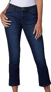 Women's Flex Motion Regular Fit 5 Pocket Capri Jean