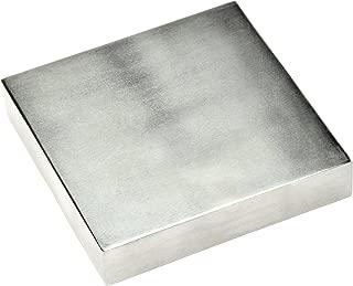 "SE JT34443SB 4"" x ¾"" x 4"" Steel Bench Block"