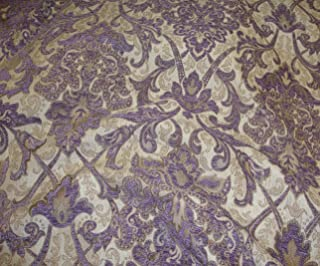 Chenille Passion Damask Upholstery Drapery Fabric by The Yard 55