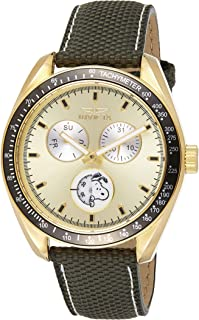 Invicta Men's Gold Dial Nylon Band Watch - IN-24930