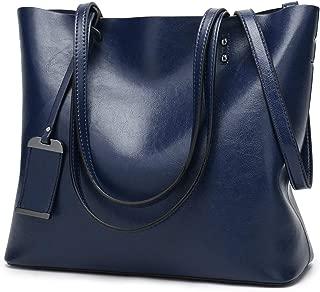 Women Square Tote Bags Top Handle Satchel Handbags Faux Leather Shoulder Zipper Purse