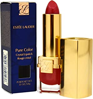 Estee Lauder New Pure Color Crystal Lipstick for Women, 20 Rose Envy, 0.13 Ounce