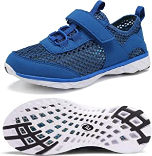CIOR Boys & Girls Water Shoes Aqua Shoes Swim Shoes Athletic Sneakers Lightweight Sport Shoes(Toddler/Little Kid/Big Kid)