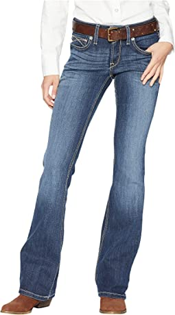 6f5d2283d01 Ariat r e a l bootcut harlow jeans in iron rose | Shipped Free at Zappos