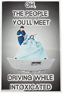 Poster #109 DUI, DWI, Don't Drink and Drive, Alcohol Prevention Posters for Teens