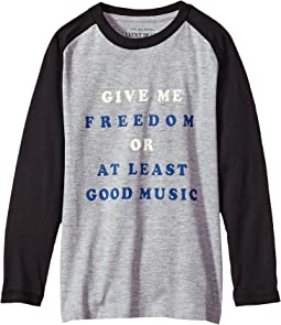 Lucky Brand Kids - Long Sleeve Graphic Tee (Big Kids)
