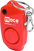 Mace Brand 130 dB Personal Alarm with Backup Whistle, Hidden Off Button and Bag/Purse Clip for Self Defense