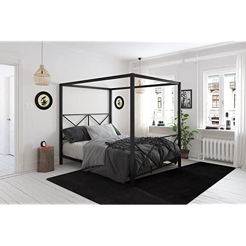 King Size Canopy Bed Amazoncom