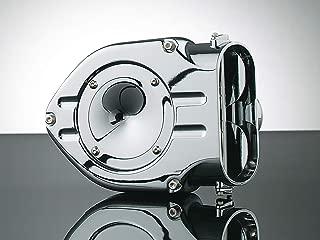 Kuryakyn 9423 Hypercharger Air Cleaner/Filter for Metric Cruisers: 1999-2009 Yamaha V Star 1100 Motorcycles, Chrome