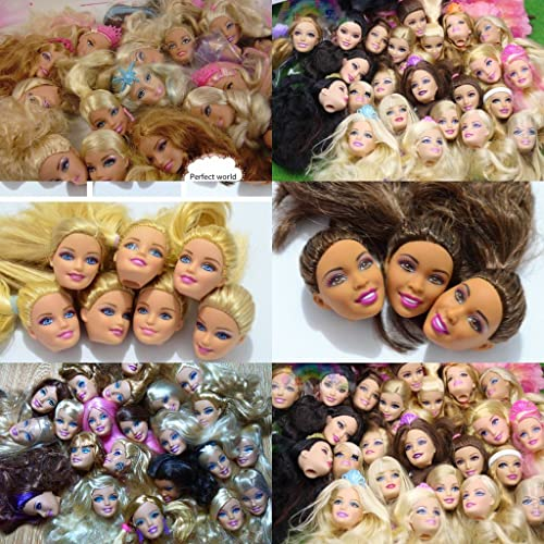 Dolls Accessories Diy In Stock Original Female Doll Heads For Girl Birthday Gift Mix-style For Doll S Doll Head Hot Selling Dolls & Stuffed Toys
