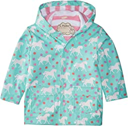 Color Changing Galloping Horses Raincoat (Toddler/Little Kids/Big Kids)